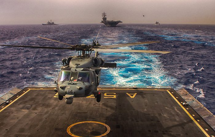 GEM elettronica provides Helo Decking Radar to Italian Navy