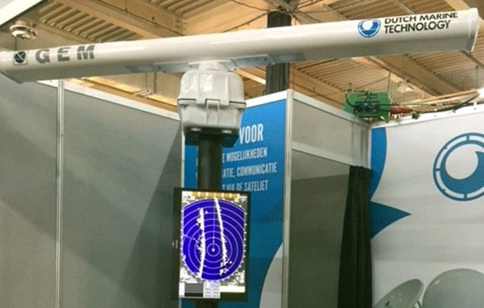 New River Radar showed at the Maritime Industry Exhibition